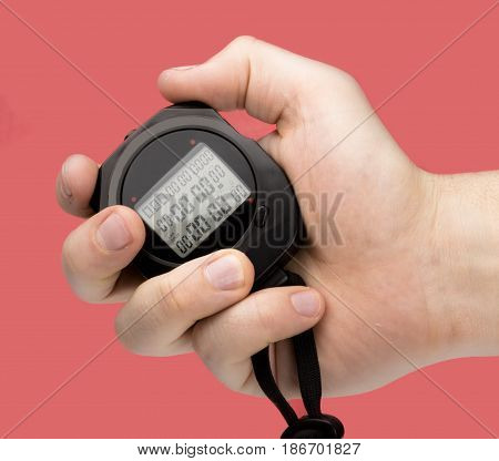 Stopwatch timer sport business time swimming watch