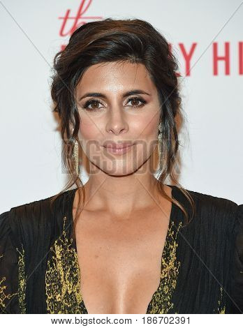 LOS ANGELES - MAY 05:  Jamie-Lynn Sigler arrives for the Race To Erase MS Gala 2017 on May 5, 2017 in Beverly Hills, CA