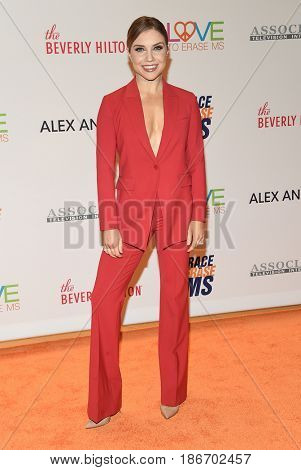 LOS ANGELES - MAY 05:  Jenna Johnson arrives for the Race To Erase MS Gala 2017 on May 5, 2017 in Beverly Hills, CA