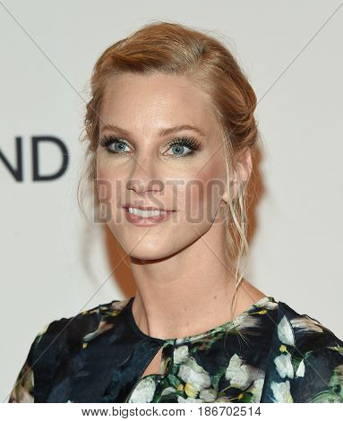 LOS ANGELES - MAY 05:  Heather Morris arrives for the Race To Erase MS Gala 2017 on May 5, 2017 in Beverly Hills, CA
