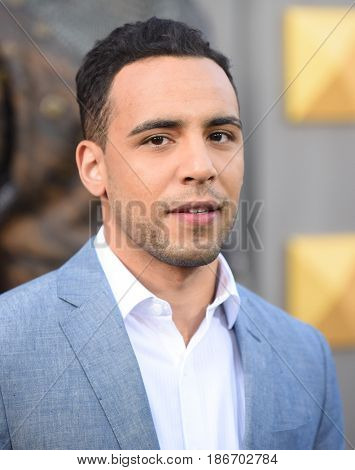 LOS ANGELES - MAY 08:  Victor Rasuk arrives for the 'King Arthur: Legend Of The Sword