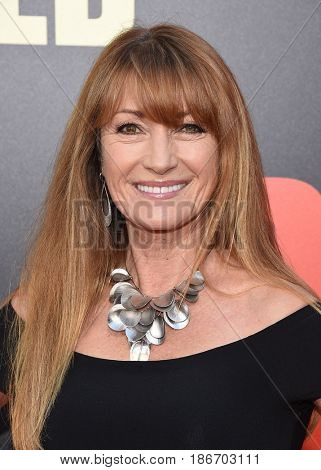LOS ANGELES - MAY 10:  Jane Seymour arrives for the 'Snatched' World Premiere on May 10, 2017 in Westwood, CA