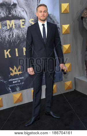 LOS ANGELES - MAY 08:  Charlie Hunnam arrives for the 'King Arthur: Legend Of The Sword