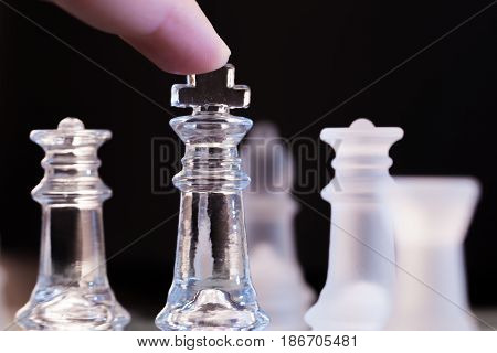 Chess playing strategy competition chess piece rivalry challenge