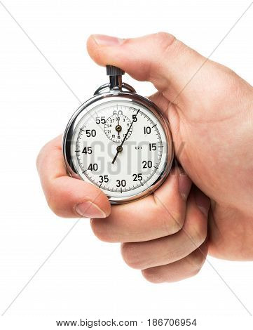 Stopwatch timer competition time swimming measuring watch
