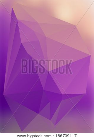 Modern Abstract Background Triangles 3D Effect Glowing Light22