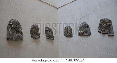 The Khorsabad Square, The Louvre, Paris, France