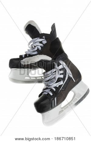 Hockey skates gear protecting ice hockey isolated protective