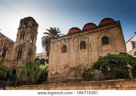 Palermo, Italy - October 14, 2009: Church Of