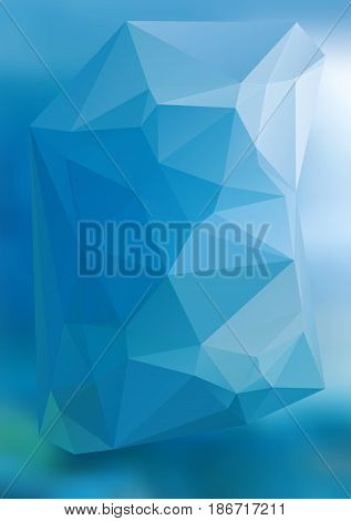 Modern Abstract Background Triangles 3D Effect Glowing Light43