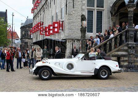Marriage Car Waiting