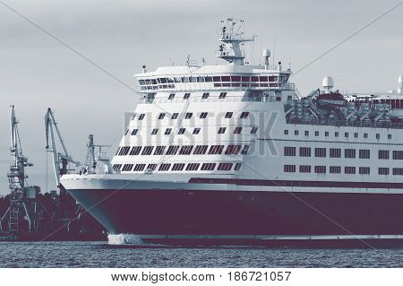 Big Cruise Liner's Bow