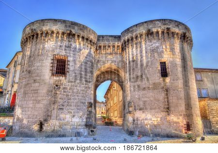 Saint Jacques Gate in Cognac - France, Charente