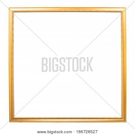 Golden Square Wooden Picture Frame