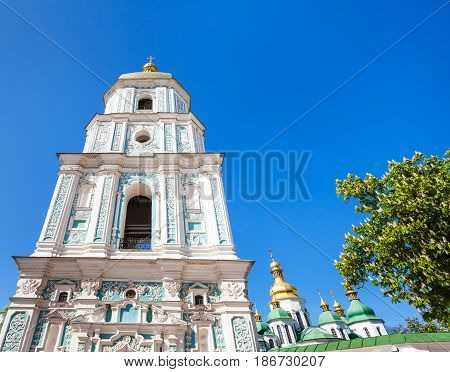 Facade Of Belltower Of Saint Sophia Cathedral