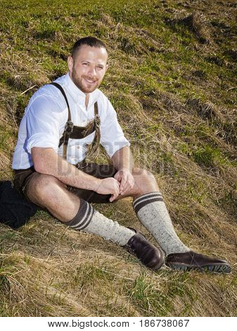 An image of a bavarian traditional man