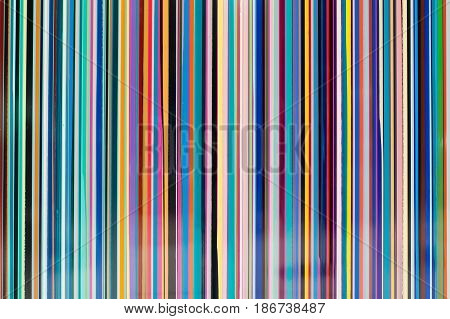 View of background covered with colorful striped line