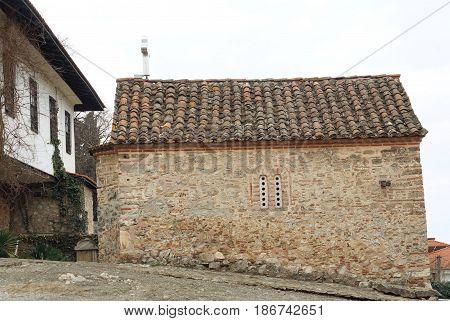 Church of st. Dimitry built in 1100 in Ohrid, Macedonia