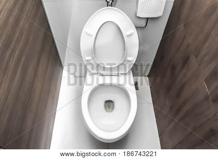 A Toilet room in the department store