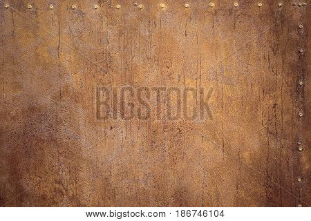 Rusty metal background for design and decoration