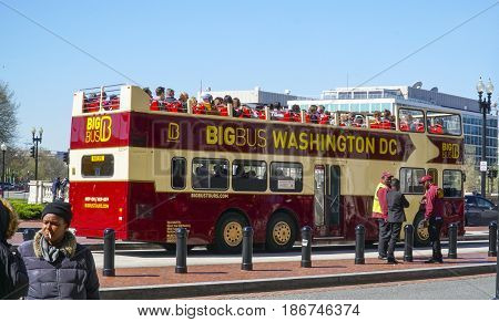 Sightseeing tour by bus at Washington DC - WASHINGTON DC - COLUMBIA