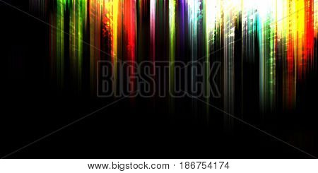 abstract stripes and lines on a dark background