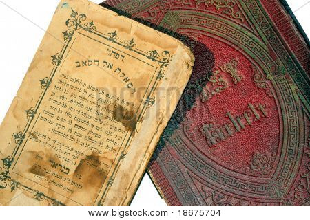 An Iraqi Jewish book written in Arabic in Hebrew letters, and a Czech Reform siddur (prayerbook) from 1860