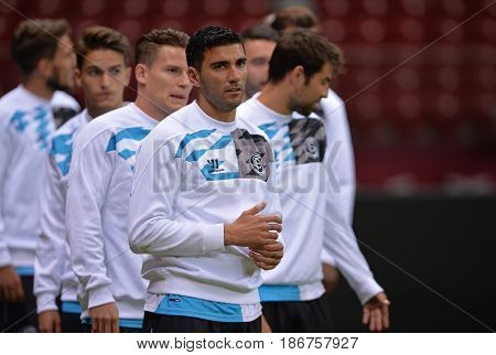 Uefa Europa League 2015 Final: Training Session