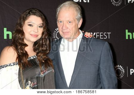 LOS ANGELES - MAR 26:  Leah Perry, Jeff Perry at the 34th Annual PaleyFest Los Angeles -