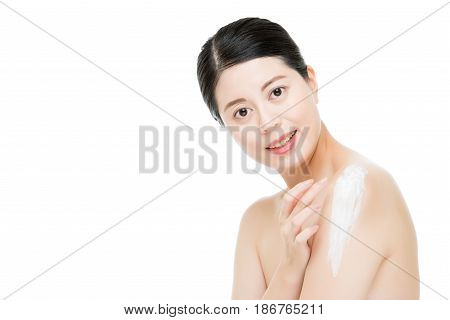 Asian Women Skin Is More Glossy And Luster.