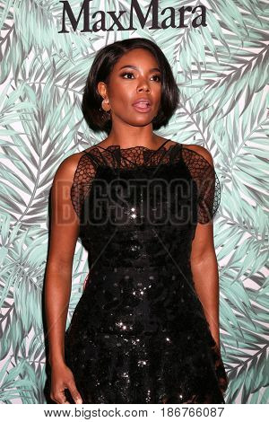 LOS ANGELES - FEB 24:  Gabrielle Union at the 10th Annual Women in Film Pre-Oscar Cocktail Party at Nightingale Plaza on February 24, 2017 in Los Angeles, CA