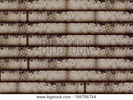 Abstract industrial technology wall background for design works.