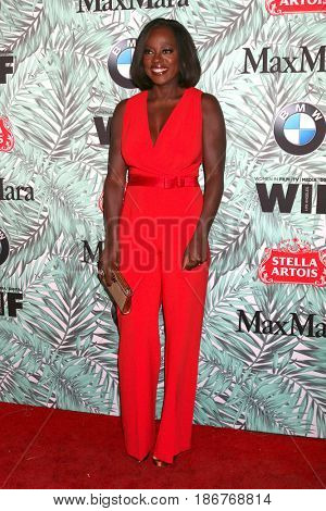 LOS ANGELES - FEB 24:  Viola Davis at the 10th Annual Women in Film Pre-Oscar Cocktail Party at Nightingale Plaza on February 24, 2017 in Los Angeles, CA