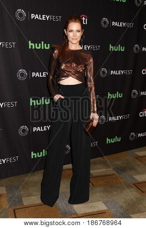 LOS ANGELES - MAR 26:  Darby Stanchfield at the 34th Annual PaleyFest Los Angeles -