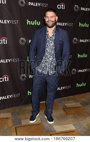 LOS ANGELES - MAR 26:  Guillermo Diaz at the 34th Annual PaleyFest Los Angeles -