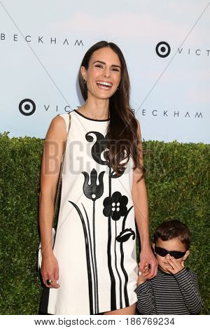 LOS ANGELES - APR 1:  Jordana Brewster, Julian Form-Brewster at the Victoria Beckham For Target Launch Event at Private Residence on April 1, 2017 in Los Angeles, CA