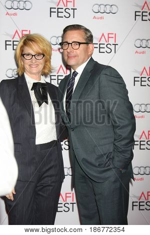 LOS ANGELES - NOV 12:  Melissa Leo, Steve Carell at the AFI Fest 2015 - Presented by Audi - The Big Short Gala Screening at the TCL Chinese Theater on November 12, 2015 in Los Angeles, CA