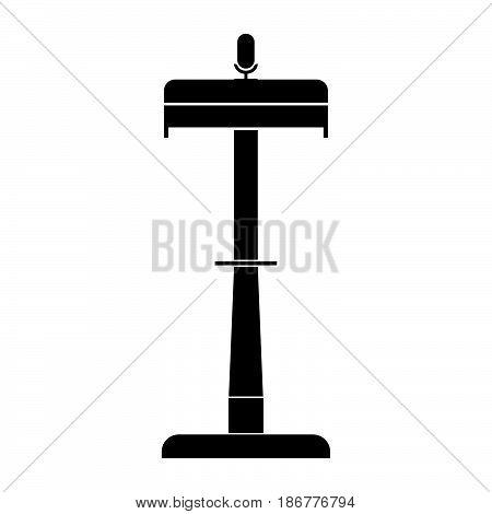 Rostrum The Black Color Icon .