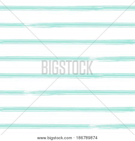 Brushstroke stripes seamless pattern. Seamless vector striped background.