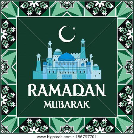 Ramadan Greeting Card Green.eps