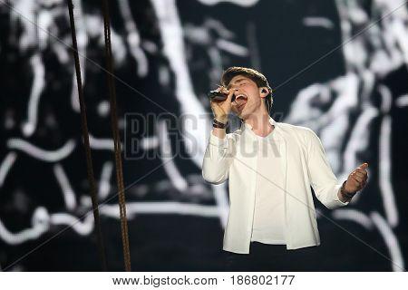 Brendan Murray From Ireland  Eurovision 2017