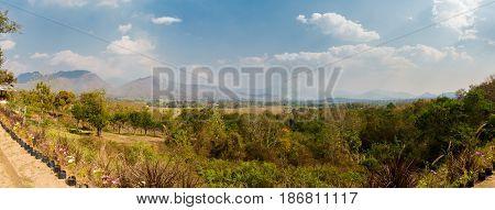 Landscape Around Touristic Pai Village