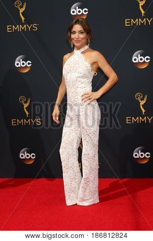 LOS ANGELES - SEP 18:  Kit Hoover at the 2016 Primetime Emmy Awards - Arrivals at the Microsoft Theater on September 18, 2016 in Los Angeles, CA