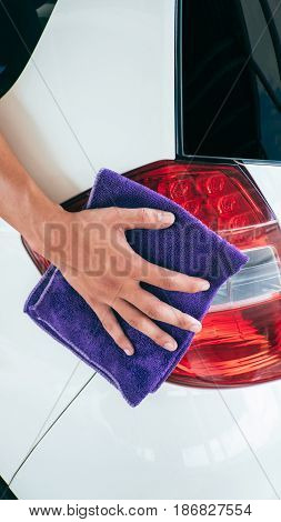 CAR CLEANING FOR ADVERTISING and banner design