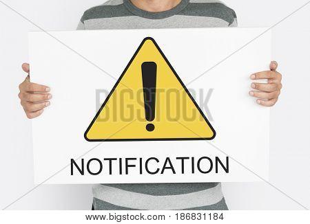 Notification Alert Attention Caution Error