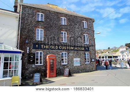 Padstow, Cornwall, Uk - April 6Th 2017: The