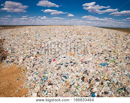 Waste of a human life is garbage dumps around cities