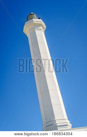 Lighthouse In Leuca, Puglia, Italy