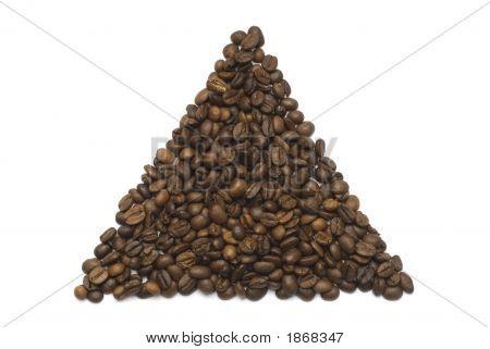 Coffee Beans Triangle Shape
