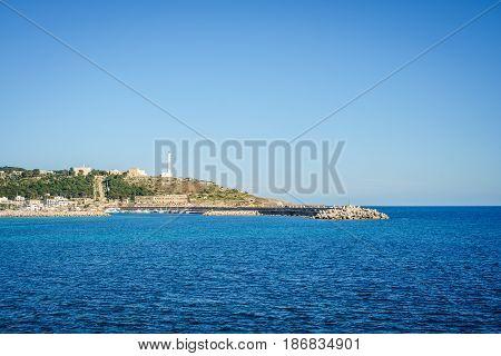 Leuca Di Santa Maria, Apulia, Italy